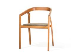 Sedia imbottita in legno ONE | Sedia imbottita -