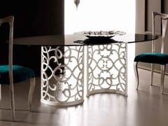 Tavolo da pranzo ovale FLORA - Armonia