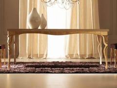 Tavolo rettangolare in legno ERIKA - Armonia