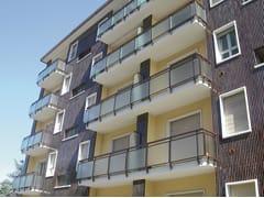 Parapetto per finestre e balconiECO GLASS - SIAMESI BY CASA ITALIA