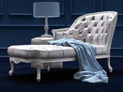 Dormeuse imbottita in tessuto FILIPPA - Elegance