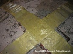 SACEN, MULTITEX Tessuto di rinforzo in fibre aramidiche