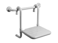 Sedile doccia rimovibile in acciaio zincato TUBOCOLOR | Sedile doccia in acciaio zincato - Tubocolor