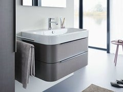 Mobile lavabo sospeso con cassetti HAPPY D.2 | Mobile lavabo - Happy D.2
