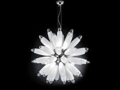 Lampada a sospensione in vetro FLO | Lampada a sospensione - Flo