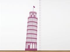 Adesivo da parete in vinileMEASURING SOUVENIR PISA - DOMESTIC