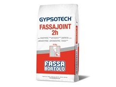 Stucco per cartongesso FASSAJOINT 2H - Gypsotech