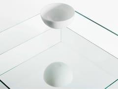 Tavolino basso in vetro a specchioREFLECT - BENSEN