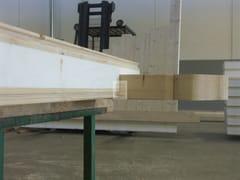 Elemento strutturale prefabbricato per coperturaFianco premontato per abbaini - GRANDI LEGNAMI