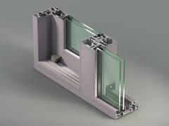 METRA, NC-S 150 STH Finestra a taglio termico scorrevole in alluminio