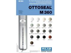 Sigillante ibrido per giunti di dilatazione tra fabbricatiOTTOSEAL® M 360 - 8-CHEMIE