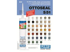 Silicone per pavimenti in PVC, gomma e linoleum.OTTOSEAL® S 51 - 8-CHEMIE