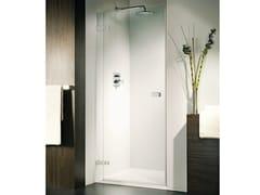 Box doccia a nicchia con porta a battente VETRA 3000 - Aura – senza profili