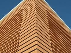 Rivestimento in terracotta per facciata ventilataT-SHAPE - TERREAL ITALIA