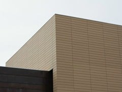 Rivestimento in terracotta per facciata ventilataPITERAK® SLIM - TERREAL ITALIA