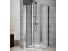 Box doccia in cristallo con piatto VELA 2000 - Vertica