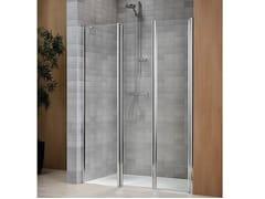 Box doccia in cristallo con piatto VELA 2000 - Vertica - con soli profili verticali
