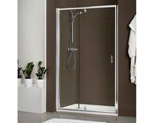 Box doccia in cristallo con piatto DUKESSA-S 3000 - Quadra