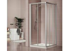 Box doccia con porta scorrevole DUKESSA 3000 - Quadra