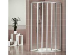 Box doccia in metacrilato DUKESSA 3000 - Quadra – con profili verticali e orizzontali