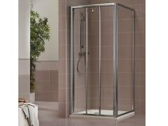 Duka, DUKESSA 3000 Box doccia in cristallo con porta scorrevole