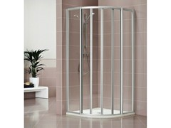 Box doccia in cristallo con porta scorrevole DUKESSA 3000 - Quadra