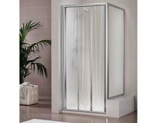 Box doccia in cristallo DUKESSA 3000 - Quadra – con profili verticali e orizzontali