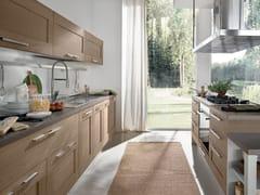 Cucina in legno con isola GALLERY | Cucina - Gallery
