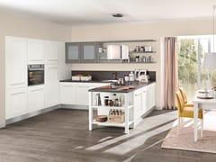 Cucina laccata con maniglie integrate GALLERY | Cucina con maniglie integrate - Gallery