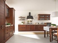Cucina in frassino con maniglie CLAUDIA | Cucina in legno massello - Claudia