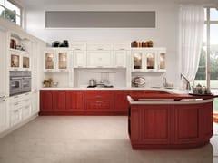 Cucina decapata con maniglie PANTHEON | Cucina con maniglie - Pantheon