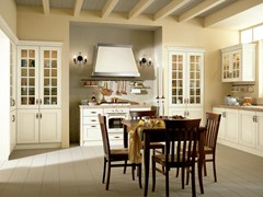 Cucina laccata in MDF VELIA LACCATA | Cucina con maniglie - Velia Laccata