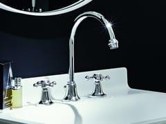 Rubinetto per lavabo a 3 fori da piano AGORÀ | Rubinetto per lavabo da piano - Agorà