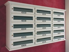 RAVASI, CLASSIC ORIZZONTALE Cassetta postale in legno
