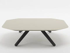Tavolino basso in MDF X TABLE | Tavolino in MDF - X Table