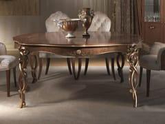 Tavolo quadrato in legno masselloVANITY | Tavolo quadrato - CARPANELLI
