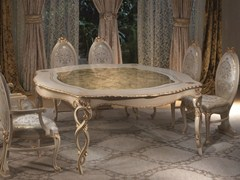 Tavolo laccato in legno masselloVANITY | Tavolo laccato - CARPANELLI