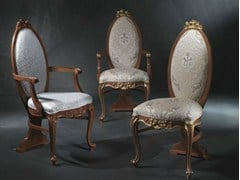 Sedia imbottita in legnoVANITY | Sedia imbottita - CARPANELLI