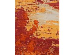 Tappeto fatto a mano rettangolare in lana SIN TITULO 28 -