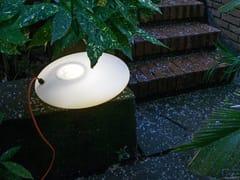 Lampada da terra a LED in polietilene GLOU GLOU POL | Lampada da terra a LED - Glou Glou Pol