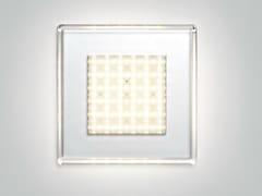 Lampada da parete / lampada da soffitto in policarbonato QUADRILED | Lampada da soffitto -