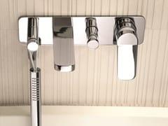 Miscelatore per vasca a muro con doccetta LEVANTE | Miscelatore per vasca a muro - Levante