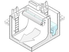 Sistema lavaggio vascheUFT FluidFlush - POZZOLI DEPURAZIONE
