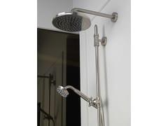 Soffione doccia a pioggia in ottone con getto fissoLIBERTY GOM | Soffione doccia - BOSSINI