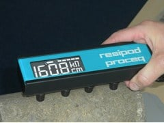 Sonda per misurare la resistività del calcestruzzoRESIPOD - PASI