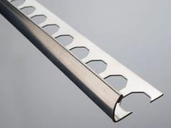 EMAC Italia, NOVOCANTO®   Profilo paraspigolo in acciaio inox  Profilo paraspigolo in acciaio inox