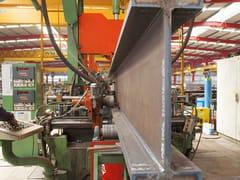Trave e pilastro misti in acciaio-calcestruzzoTravi alleggerite - MANNI SIPRE