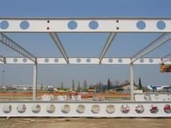 Trave e pilastro misti in acciaio-calcestruzzoTravi composte - MANNI SIPRE