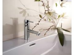 Miscelatore per lavabo da piano monoforo in ottone designOKI | Miscelatore per lavabo - BOSSINI