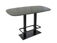 Tavolo alto rettangolare in ghisa SPRITZ-84-2-FF-PG - Spritz